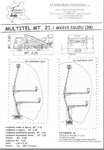 MULTITEL MX 210
